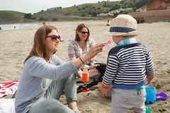 alban's turn (embem30) Tags: beach leah pacifica alban kirstin