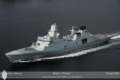 F362 Peter Willemoes (Aviation & Maritime) Tags: norway navy bergen frigate warship royaldanishnavy peterwillemoes f362peterwillemoes