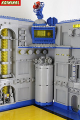 Space base (andreakr1minal) Tags: classic lago space style scifi neo gundam base moc