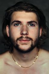 Alex (sofia.svanlund) Tags: light boy portrait guy canon hair beard thailand 50mm long close natural koh lanta 6d