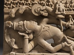 Vishnu in His Cosmic Sleep LACMA M.79.111 (8 of 10) (Fæ) Tags: wikimediacommons imagesfromlacmauploadedbyfæ sculpturesfromindiainthelosangelescountymuseumofart sheshasayivishnu