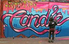Candie (cocabeenslinky) Tags: street city uk pink girls england urban streetart london art writing canon graffiti march paint artist grafitti power shot photos top south graf united capital letters kingdom tunnel spray powershot east waterloo got graff leake se1 candie artiste on 2014 bandita g15 cocabeenslinky