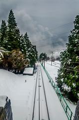 El Funi (Unai Aranzamendi) Tags: nieve bizkaia funicular arboleda lareineta