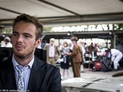 2014 Goodwood Revival: Giedo van der Garde (8w6thgear) Tags: portrait vintage tie suit goodwood paddock revival 2014 racingdriver giedovandergarde racttcelebration