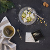 (Subversive Photography) Tags: stilllife food photo tea walnut pistachio letter slate turkishdelight bayleaves danielbarter