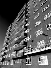 Roxby Close Tower Block - Lincoln Green Estate - Leeds (James W Bell (Good Honest Iago) - Leeds) Tags: flats highrise housing innercity brutalism towerblock deprivation councilestate towerblocks councilflats socialhousing midcenturyhousing deprivedarea