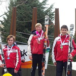 Parsons Super-G - Kasper Woolley 1st, Kyle Alexander 2nd, Asher Jordan 3rd PHOTO CREDIT: Davis Jevning