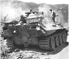 Panther Ausf.A, captured by the Americans in Italy, 1944