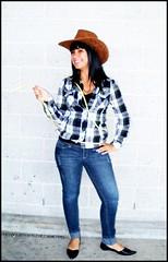 *Sarah* (army-brat) Tags: friends summer girl smile sarah season fun costume friend play dressup cowgirl activity