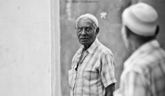 Aboobey Reflection (ibrahimirshad) Tags: old people bw white black reflection beautiful photography top and maldives guraidhoo kaafu kguraidhoo