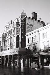 Theatre Royal (jack_packham) Tags: street film brighton rangefinder ilfordxp2 ilford ricoh ricoh500g blackandwhitefilm