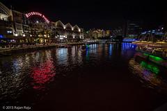 Clarke Quay, Singapore Panorama (Rajan Raju) Tags: singapore cityscapes clarkequay nightsingapore singaporeatnight sg50