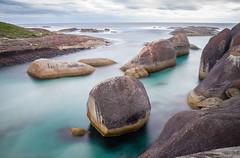 At Elephant Rocks (laurie.g.w) Tags: elephant bay rocks dusk australia william national western parkdenmark
