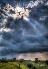 Sun and Rain Blue Ridge Parkway Explore Park (Terry Aldhizer) Tags: park blue sun mountain storm mill rain weather pine spring ridge explore parkway terry thunderstorm overlook aldhizer wwwterryaldhizercom