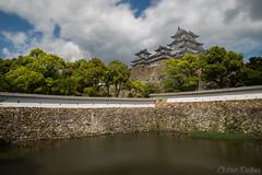 Himeji Castle (woozy95) Tags: trip travel trees sky cloud lake castle monument japan long exposure zen himeji