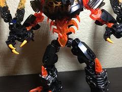 MOD: Lava Beast - 02 (stubs4limbs) Tags: bionicle ccbs stubs4limbs lego moc