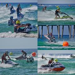 Pro Watercross Pensacola Beach (Stuart Schaefer Photography) Tags: beach water sport race florida action outdoor watersports jetski watercraft pensacolabeach prowatercross