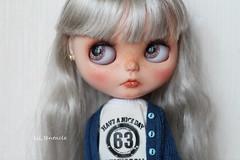 alice (octopus93) Tags: b cute eye art eyes doll dolls child artgallery alice blythe custom rbl customblythe faceup eyechips cutedoll blythecustom blytheeyes cutedolls blythedollcustom blytheooak