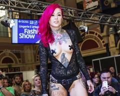 Great British Tattoo Show 2016 (Nick Atkins Photography) Tags: london fashion tattoo lingerie alexandrapalace latex alternative nickatkinsphotography missannalieza greatbritishtattooshow2016