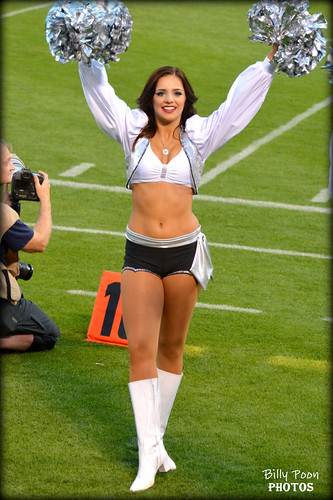 2015 Oakland Raiderette Kelly