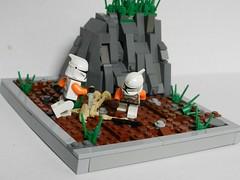 Alt view (Brickevil) Tags: orange k dead star clones torso wars droid 212 clonez cl0nes