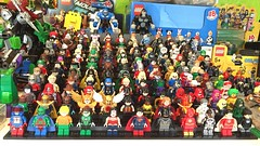 DC Characters: The collection so far... (-{Peppersalt}-) Tags: woman comics wonder justice dc lego superman batman characters heroes figures league villains minifigures