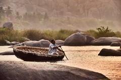 | Essence of Karnataka | (nitinsingh3) Tags: morning travel nature wow river relax boat calm essence karnataka pleasant
