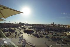 jemaa el fna (Dicas e Turismo) Tags: african viagem marrakech palais majorelle medina souks turismo viagens menara marrocos koutoubia marroco jemaaelfna mamounia mesquita frica roteiro marraquexe dicas