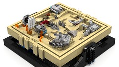 Jakku maze 3 (Oky - Space Ranger) Tags: rebel star garbage fighter order force desert lego crashed transport tie first millennium special destroyer falcon planet imperial maze xwing wars junkyard wreck ideas atat forces troop resistance outpost awakens microscale bb8 jakku