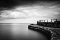 The Old Pool III (David Ball Landscape Photography) Tags: uk longexposure travel sea sky blackandwhite storm water monochrome clouds canon landscape outdoors photography mono coast blackwhite moody cloudy wideangle coastal tones 2016 leefilters cloudsstormssunsetssunrises superstopper davidballlandscapephotography