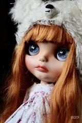 Iriscustom Ooak Blythe Art  Doll Milly