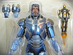 Snap Quick Unboxing  Hot Toys  MMS309  Iron Man 3  Iron Man Mark XL Shotgun  Special Edition Version  Close Up (My Toy Museum) Tags: man hot toys iron action mark snap figure shotgun quick xl mk unboxing