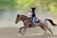 Barrel Racing (SOOC) (Bruce Wunderlich) Tags: red barrel racing washington county fairgrounds horse pan blur sooc friends hocking hills camera club bruce wunderlich nikon d750 dps