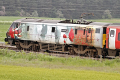 91111 Class 91 Virgin East Coast 'For The Fallen' (SparkyMark's Aircraft ) Tags: class 91 virgin east coast 91111 for the fallen