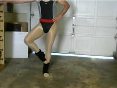 Ballet (Spandxcomics) Tags: ballet dance tights leotard