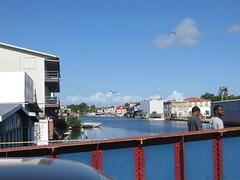 Belize City: Swing Bridge (zug55) Tags: bridge belize caribbean belizecity swingbridge centralamerica belice americacentral haulovercreek britishhonduras
