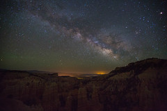 Milky Way over Fairyland Canyon, Bryce Canyon National Park (derwiki) Tags: longexposure stars utah nationalpark space galaxy astrophotography hoodoo brycecanyon milkyway fairylandcanyon
