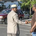 The Violence Interrupters organized a violence intervention walk through the streets of  Austin in Chicago. thumbnail