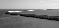 Twice Infinity... (ruijose68) Tags: sea dock contrete port water horizon barcelona spain stonework manmade infinity heartawards blackdiamond