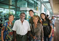 Saying goodbye to our friendly taxi driver at Yangon Airport (Bn) Tags: portrait people taxi chauffeur driver airpor myanmar birma burma smile friendly nomad meditation monk youngster face thanaka facial monastery blind man woman tradition culture enchanting welcoming simple curious talking chat album fisherman buddism temple hat asia country prayer eye contact girl boy family bagan inle lake longneck charm mystery help 6d yangon international airport rangoon mingaladon goodbye