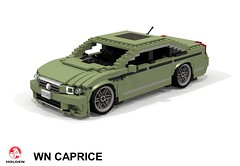Holden WN Caprice (lego911) Tags: holden gm general motors australia aussie caprice wn commodore 2015 auto car moc model miniland lego lego911 ldd render cad povray 2010s sedan saloon v8 luxury foitsop