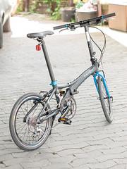 P1110135 (daniel kuhne) Tags: bike fast panasonic compact foldingbike dahon klapprad visc faltrad lumixgf1 olympus45mmf18
