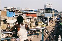 Dharavi (fisher.victor) Tags: city urban india film 35mm busy bombay shanty mumbai praktica slum mtl5 dharavi
