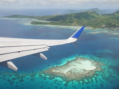 Leaving Pohnpei.