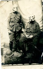 Gas Masks (angelap2009) Tags: ww1 gasmasks soldiers anzacs