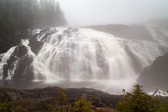 High Falls (ZensLens) Tags: camping lake fog landscape scenic superior coastal amethyst lakesuperior rugged ontarioparks