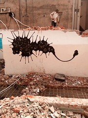 Game over~ (emon.vq) Tags: art drawing wallart publicart dhaka bangladesh muhammadzakir