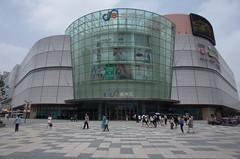 R0002259 (Kiyohide Mori) Tags: glass sign facade shanghai entrance curtainwall inmall ledvision baolehui