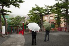 (lonerasser) Tags: japan mountfuji umbrellas paraplyer