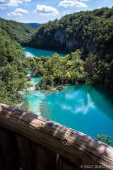 Vakantie Kroati & Sloveni 2015 (redijkstra) Tags: water meer natuur uitzicht hek kroati npplitvice